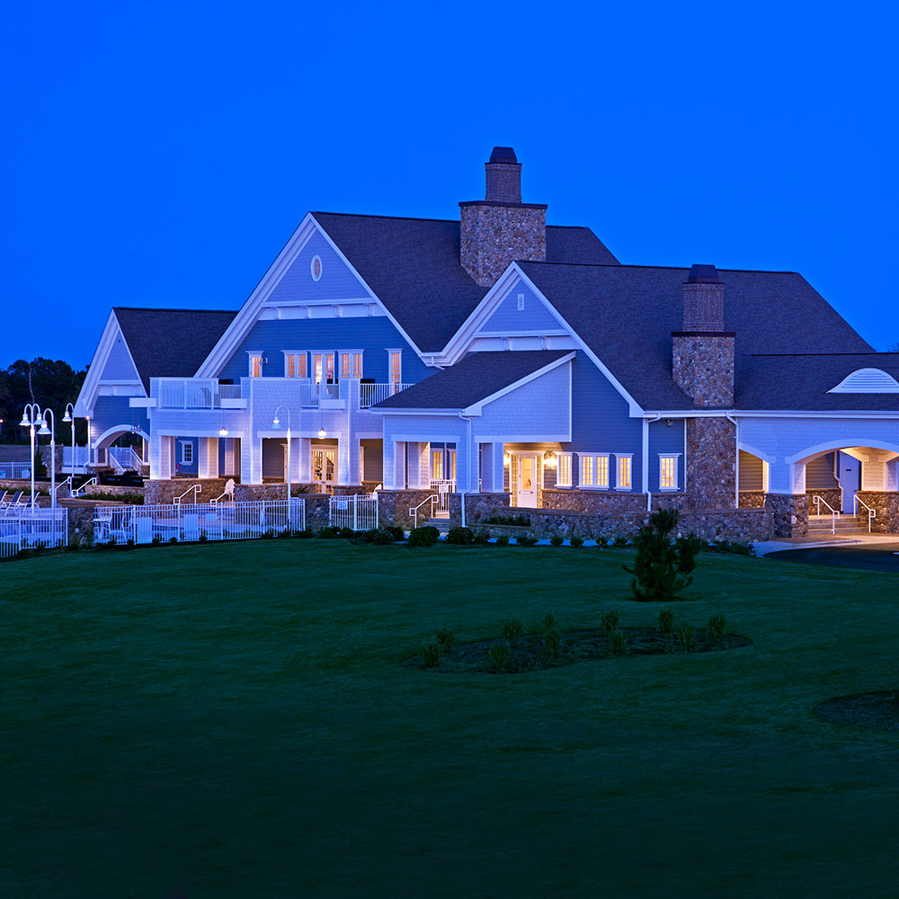 Summerhouse Clubhouse at Night