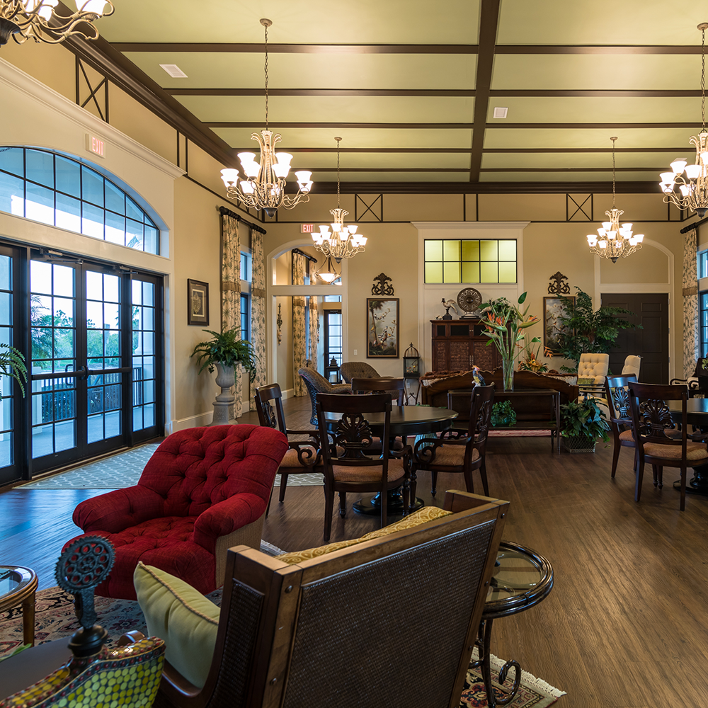 Water Ridge Clubhouse Interior